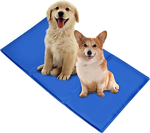 Perfect Size for Couch Large Pet Cooling Mat Best for Keeping Pets Cool Fits The Easyology Premium Pet Warming and Cooling Bed Cold Gel Pad for Cats and Dogs