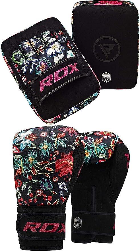 RDX Boxing Pads MMA Muay Thai Focus Mitts Kickboxing Hook /& Jab Target Training