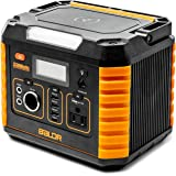 BALDR Portable Power Station 330W, Portable Solar Generators for home use, Emergency Lithium Battery with QC3.0 & Type C, 110