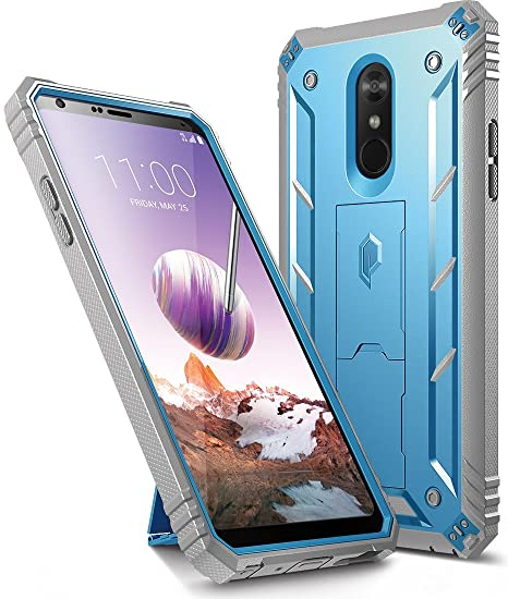 new arrivals 09a72 28565 LG Stylo 4 Case, LG Stylo 4 Plus Case, Poetic Revolution [360 Degree  Protection][Kick-Stand][Built-in-Screen Protector] Full-Body Rugged Heavy  Duty ...