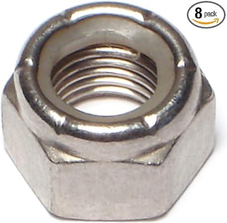 "7//16/"" NyLock Nut 7//16-20 Nylon Insert Lock Nut Zinc Plated Finish Nut 20 pc"