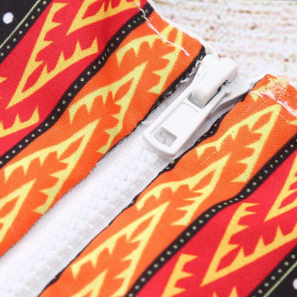 Conjunto de Dos Piezas Trajes Lonshell Lindo Vestido para ni/ños reci/én Nacidos-ni/ñas beb/és Kawaii Summer African Print Mameluco sin Mangas