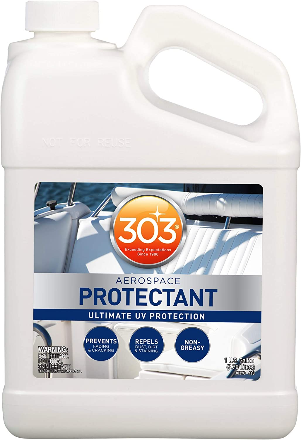 303 (30370) Products Marine Aerospace Ultimate UV Protection-Keeps Vinyl, Rubber, and Plastic Looking New, Longer, 1 Gallon, 1. Fluid_Ounces
