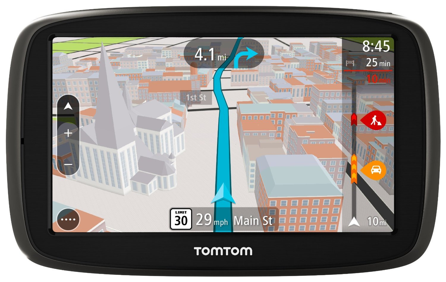 Amazon Com Tomtom Go  S Portable Vehicle Gps Certified Refurbished Cell Phones Accessories