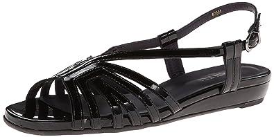 Womens Sandals Vaneli Bitya Black Soft Patent