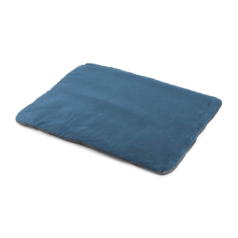 Ruffwear Mt. Bachelor Pad Portable Dog Bed, Overcast bluee, Medium