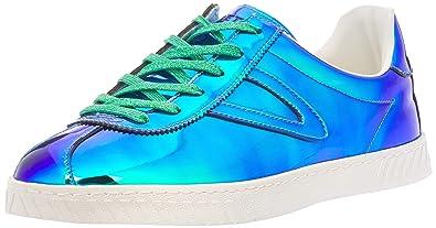 bd1c4344fdd Tretorn Women s Camden 5 Iridiscent Blue 4 Ankle-High Fashion Sneaker - 4M