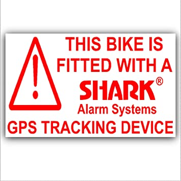 X Bicycle Security Stickers Gps Tracker Tracking Devicewarning Mountainracing