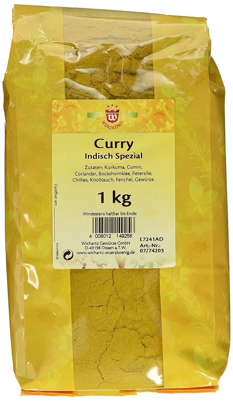 Wichartz Würzkönig Curry indian special 1000g
