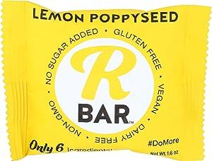 RBAR ORGANIC Lemon Poppy Seed Bar, 1.62 OZ