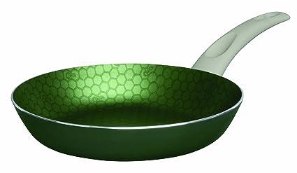Cinsa 311422 Greencell 24,1 cm sartén antiadherente de aluminio sartén, tamaño mediano,