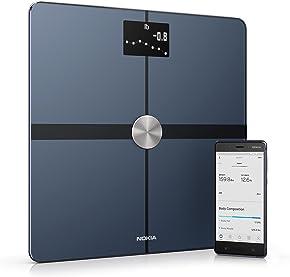 Nokia Body+ - Báscula wifi de composición corporal, negro