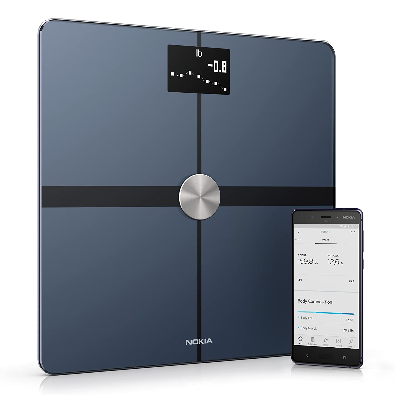 Nokia Body+ – Body Composition Wi-Fi Scale, Black WITI1 WBS05-Black-All-Inter