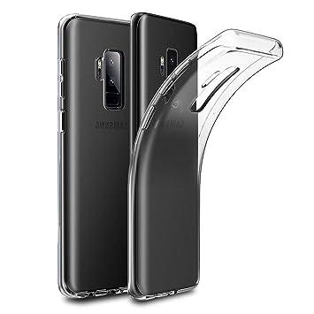 TBOC® Funda de Gel TPU Transparente para Samsung Galaxy S9 Plus ...
