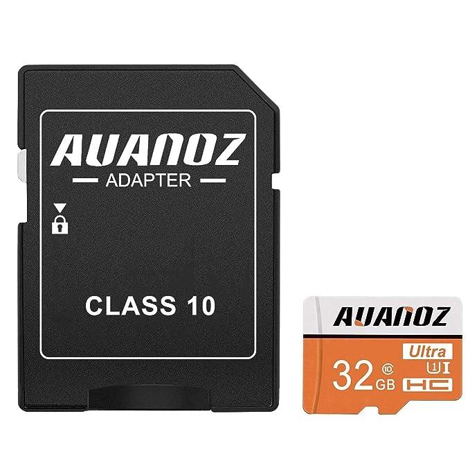 Tarjeta De Memoria TF De 32 GB,Auanoz Ultra Class 10 UHS-I Tarjeta De Memoria De Alta Velocidad Para Teléfono,Tableta y PC - Con ...