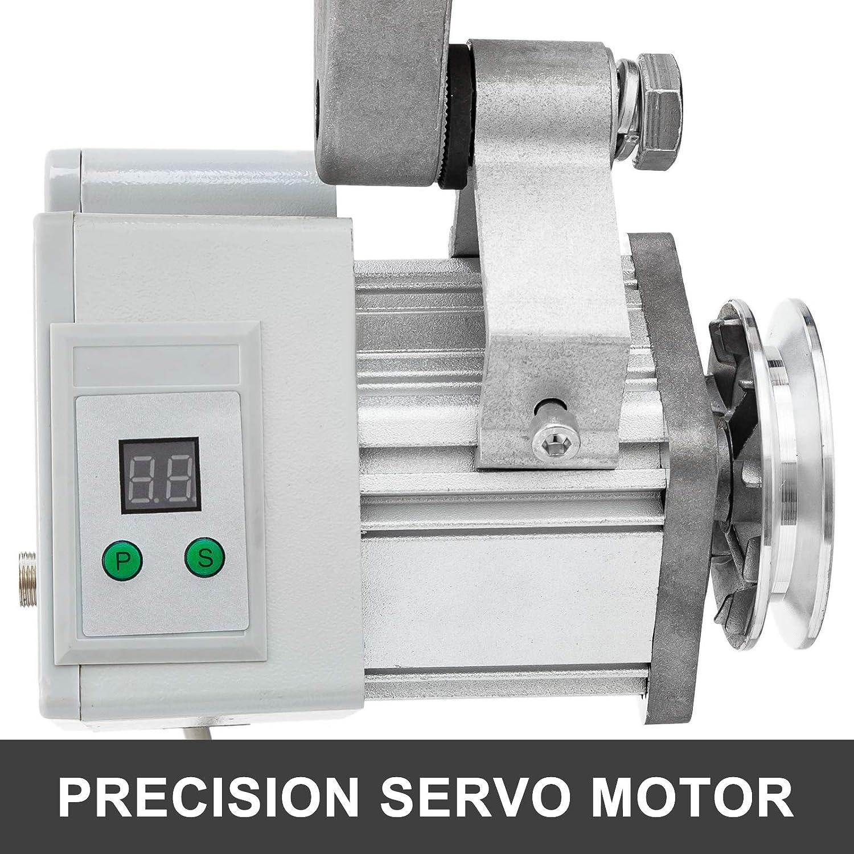 Bisujerro Motor de la Máquina de Coser 220V 400W Servo Motor de ...