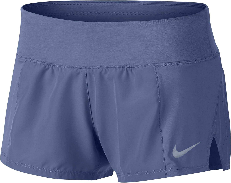 100% autentico buscar oficial últimos lanzamientos Amazon.com : Nike Women's Crew Running Shorts (Purple Slate, X ...