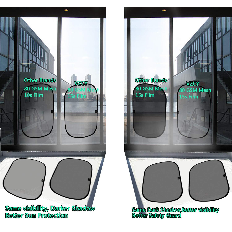 VZCY AU01002 Car Sun Shade 4 Pack
