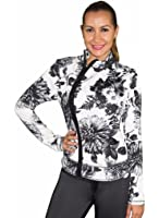 Babalu Polyester Flower Print Jacket