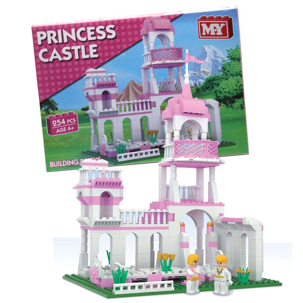 Guaranteed4Less Girls Building Blocks Toy Kids Bricks Princess Dream Castle Home Lego Compatible
