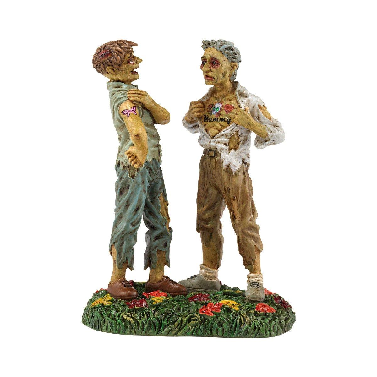 Department 56 Snow Village Halloween Ink Scare Accessory Figurine, 1.97 inch (4036596)