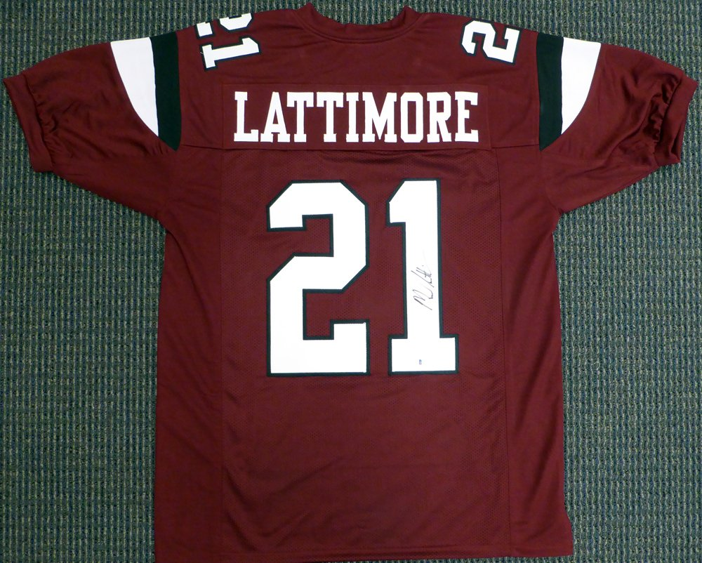 3032bb93d South Carolina Gamecocks Marcus Lattimore Autographed Maroon Jersey Beckett  BAS at Amazon s Sports Collectibles Store