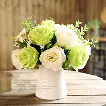 Flor Artificial Un Idilico Minimalista Lovevase Rosas Verdadero