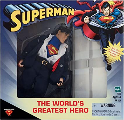 """8"""" WORLDS GREATEST HEROES SUPERMAN"""