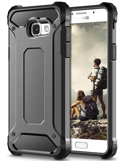 11 opinioni per Cover Samsung Galaxy A5 2017, Coolden® Hybrid Dual Layer Armor Protezione Soft