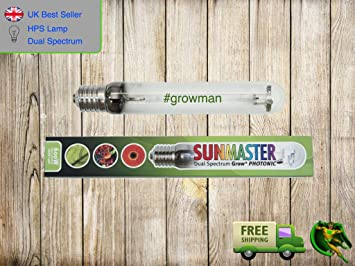 Sunmaster 600w Dual Spectrum HPS Grow Lamp