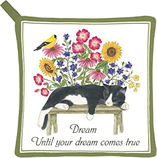 product image for Alice's Cottage AC21444 Cat on Bench Pot Holder