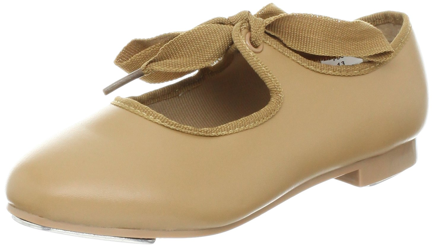 Dance Class T600 Beginner Tap Shoe (Toddler/Little Kid/Big Kid),Camel,10 M US Toddler by Dance Class