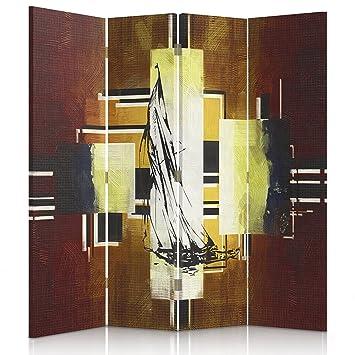 Feeby Frames Paravent Wandbild Druck Auf Plane, Trennwand Für Zimmer  Dekoration, Beidseitigen, 3