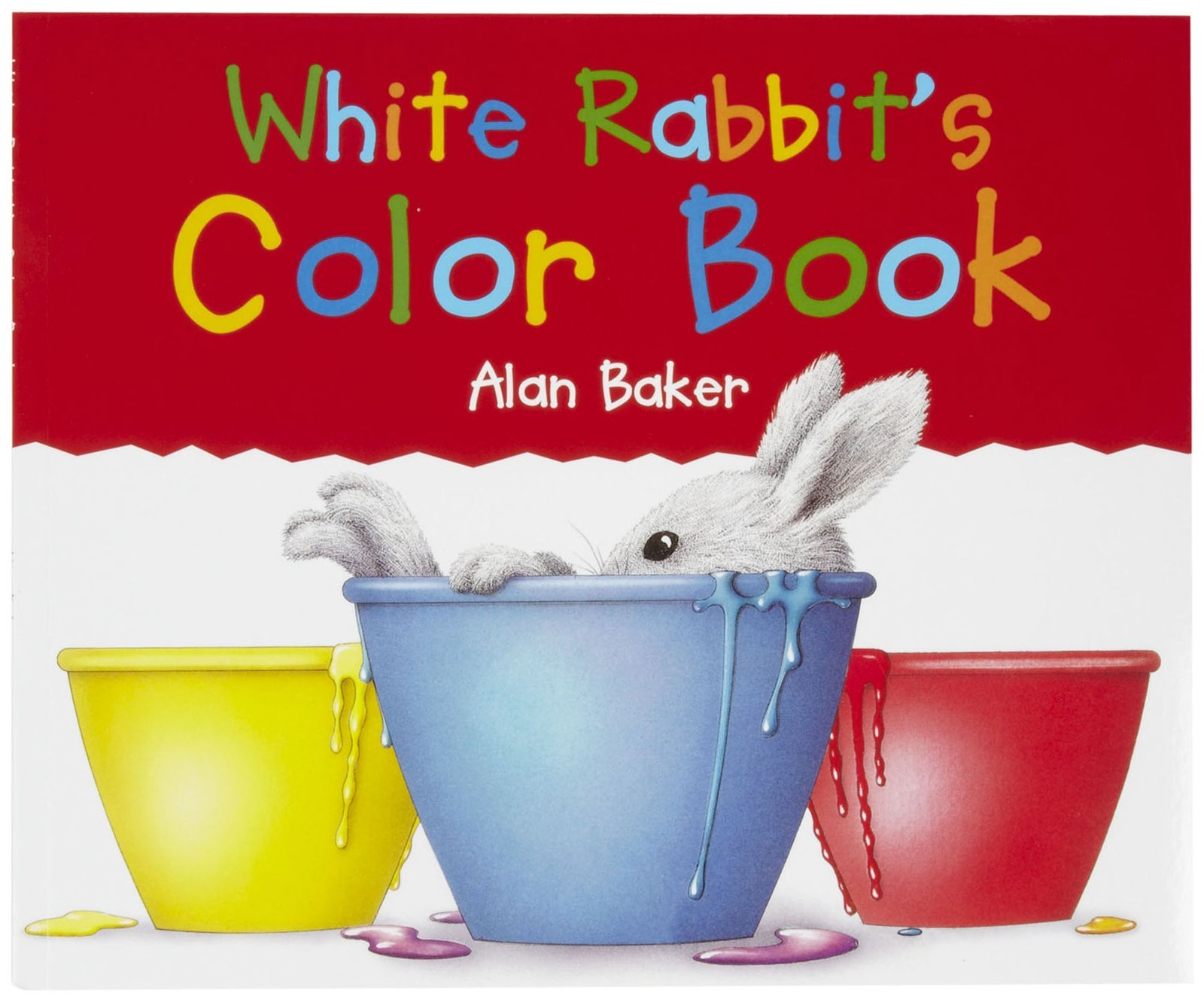 White Rabbit\'s Color Book: Amazon.com: Books