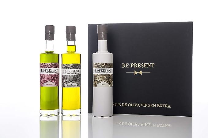 ESTUCHE REGALO ACEITE DE OLIVA VIRGEN EXTRA RE-PRESENT ...