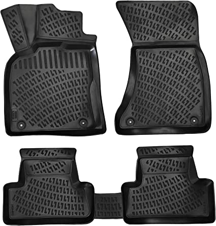 FORD FOCUS C MAX 2003 2010 TAILORED fitted RUBBER Car Floor Mats HEAVY DUTY