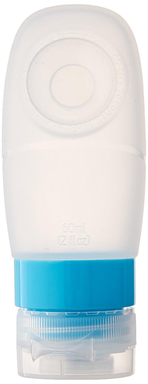 GoTravel Squeezy 60ml Kabine Approved Flaschen f/ür Fl/üssigkeiten 3 Pro Packung Klar Ref 662