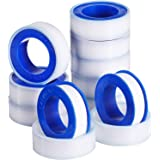 Skylety 10 Rolls Thread Seal Tapes, PTFE Pipe Sealant Tape (1/2 by 520 Inches)