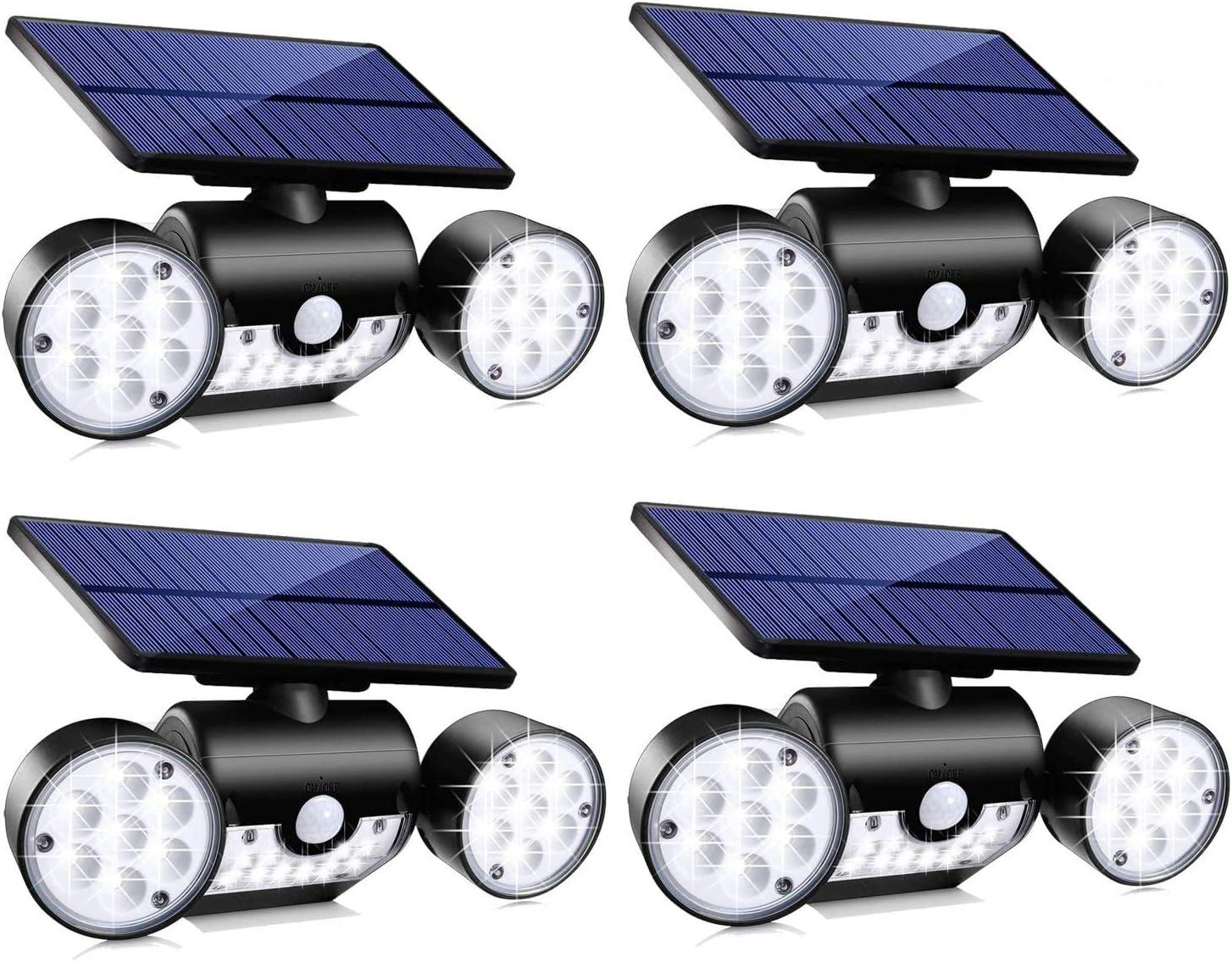 Topmante Solar Motion Sensor Lights