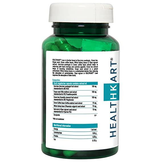 092d81a73 Healthkart Lean Fat Burner - 90 Capsules  Amazon.in  Health   Personal Care