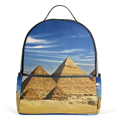 fb6f1e8d7fdb JSTEL Kids Backpack Childrens Day Gift Egypt Pyramid Khafre And ...