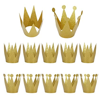 Image Unavailable Not Available For Color Birthday Party Hats Gold Crown Kids