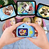 Huicocy Kids Camera,Dual Selfie Camera 1080P HD