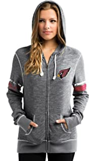 Amazon.com : Chicago Bears Womens Zip-Up Tame The Tide Hooded ...