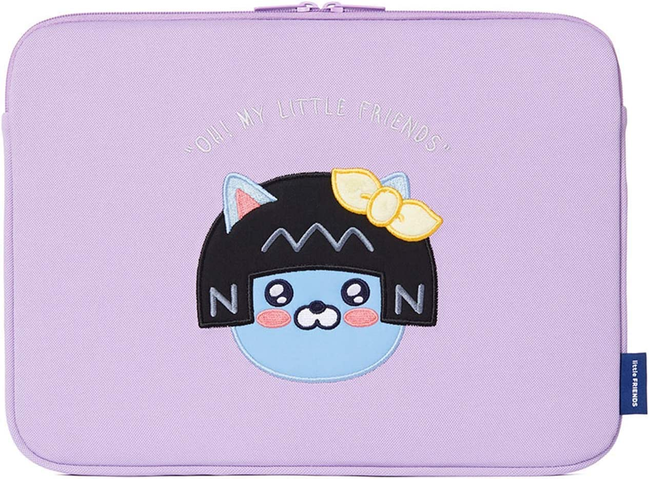 KAKAO FRIENDS Official- Little Friends Basic Protective Laptop Sleeve Case Bag (Neo) (15 inch)