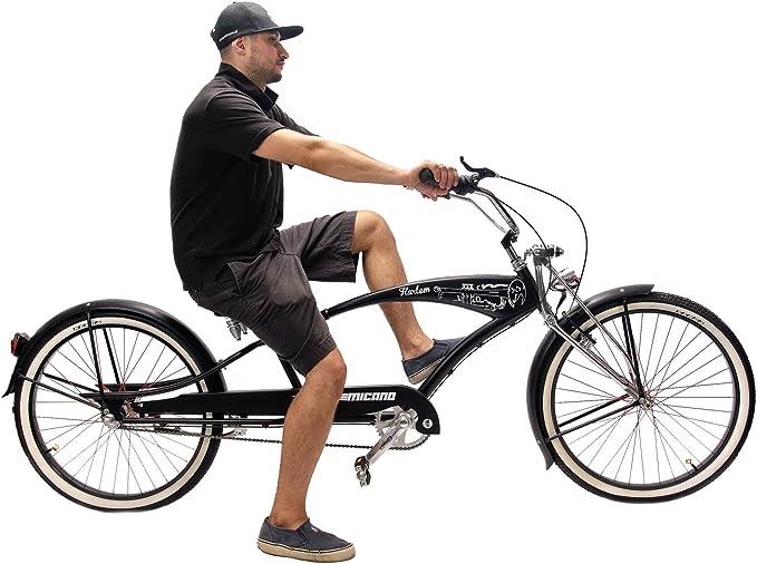 micano Harlem largo – hombre Cruiser playa bicicleta 26