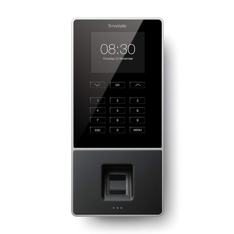 TimeMoto TM-626 - Terminal para fichar con huella dactilar, tarjeta o llave RFID y PIN. Hasta 200 usuarios. Incluye software TimeMoto PC - Garantiza el ...