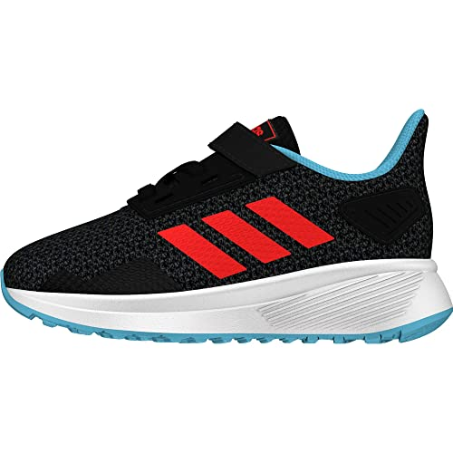 super popular 5f99d 1a714 adidas Duramo 9 Scarpe Running Unisex-Bambini, Nero CblackSolredGrefou,
