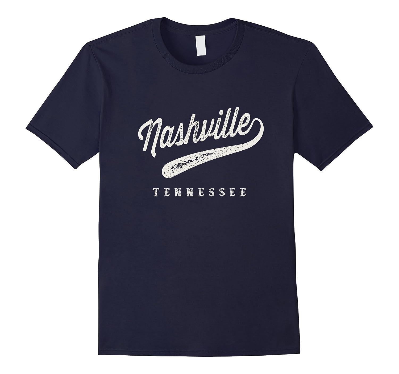 Nashville City Vintage T-shirt-T-Shirt