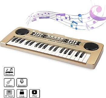 aPerfectLife 37 Keys Kids Keyboard Portable Piano
